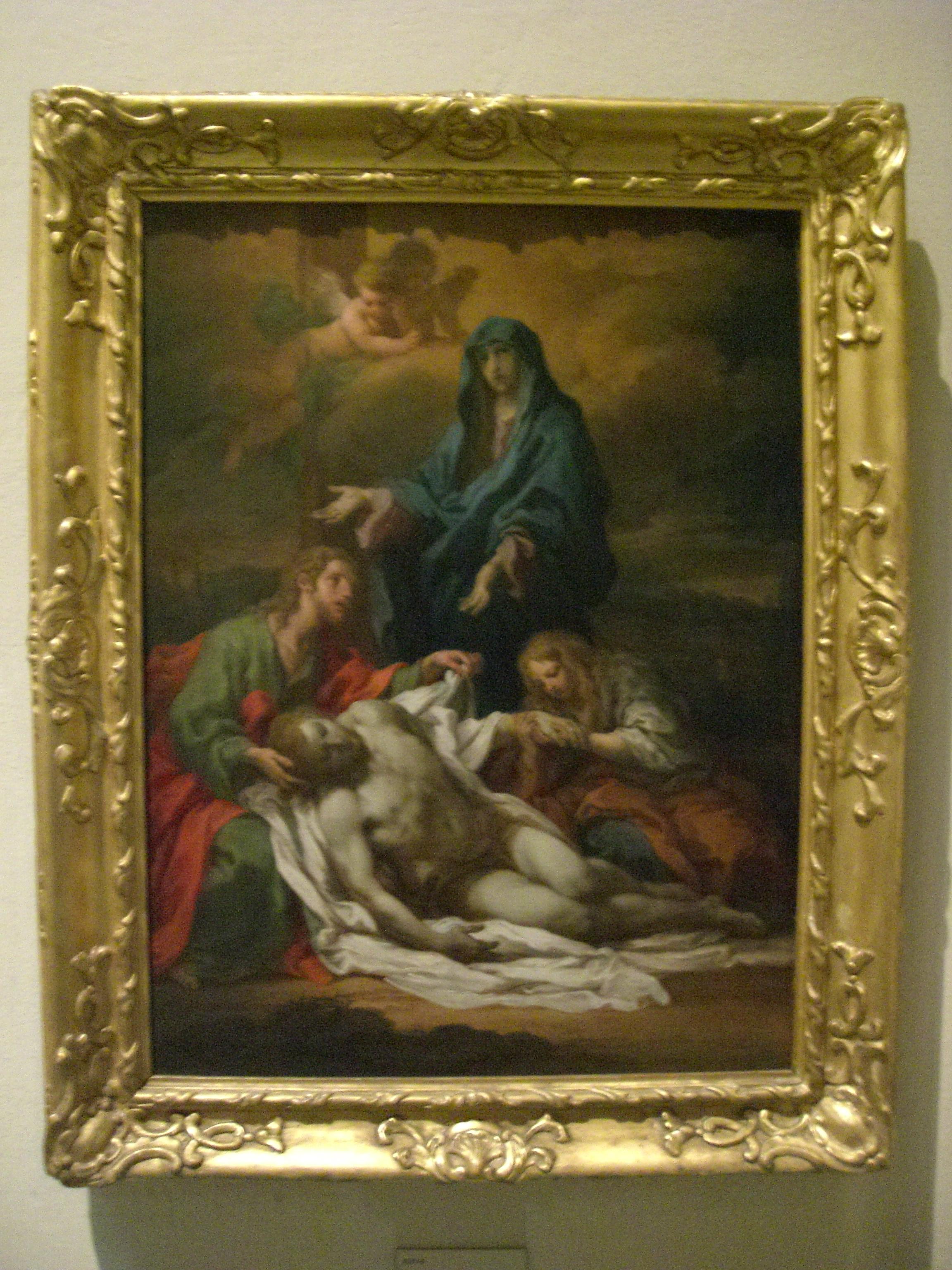 Vatican Museum Pinacoteca (Art Gallery): Jesus' Body is ...