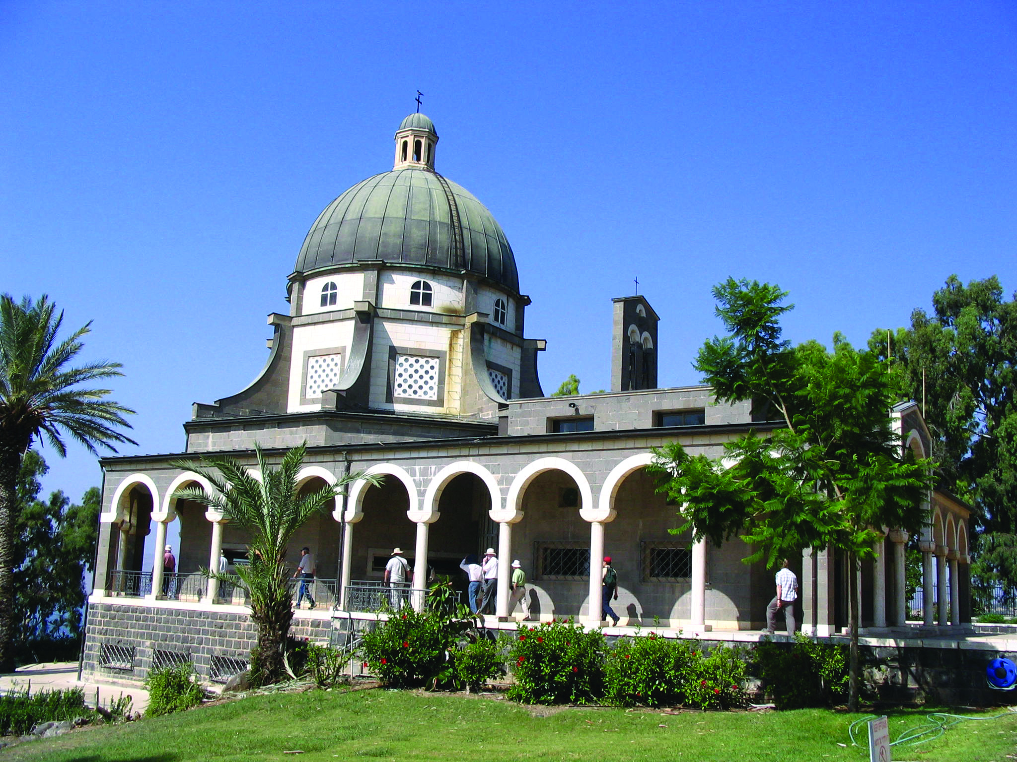 Church of the Beatitudes near Tabgha, Israel | Saint Mary