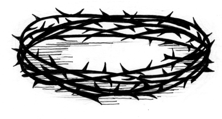 crown of thorns saint mary s press crown of thorns clip art black white crown of thorns clipart free