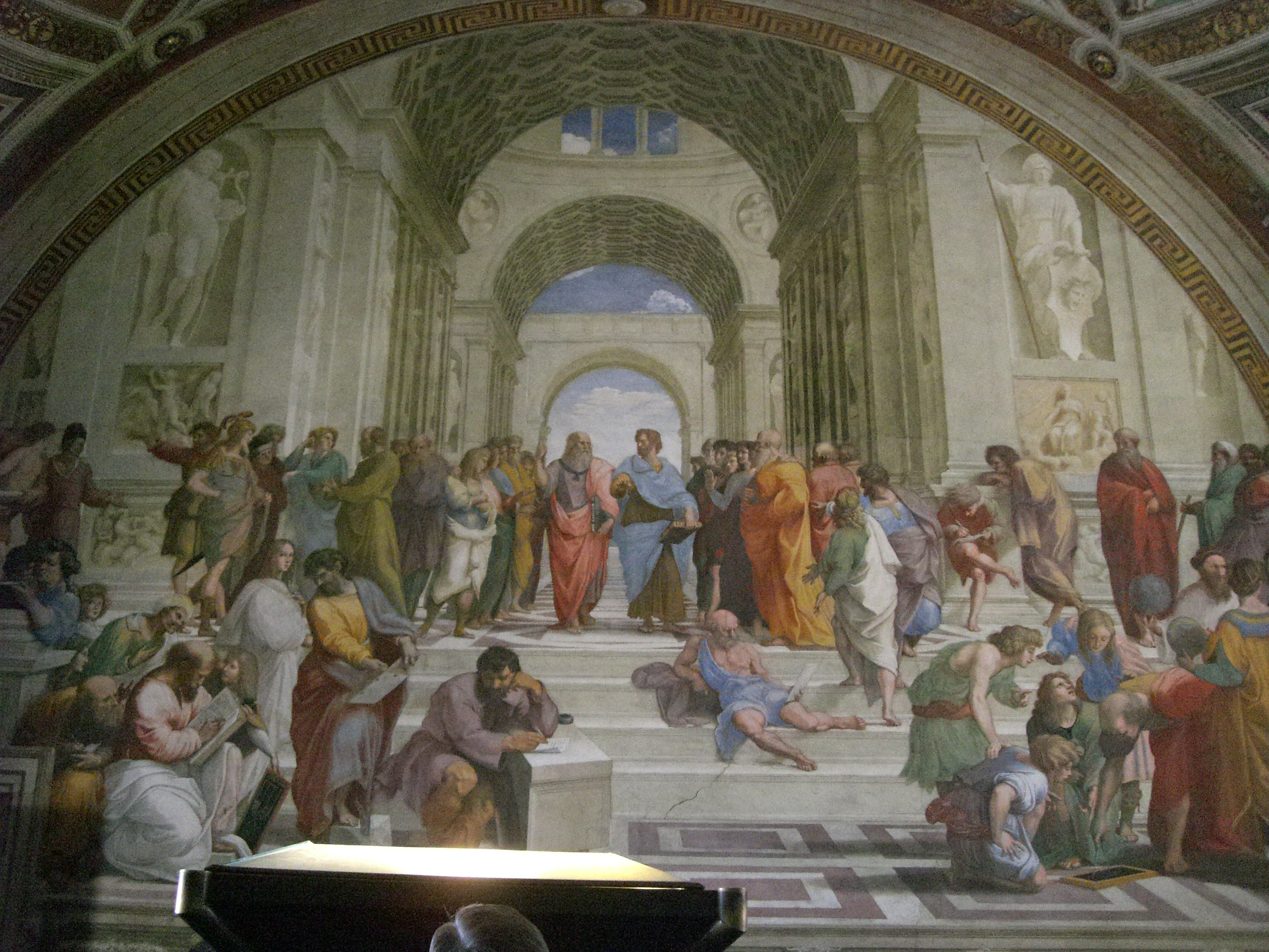 """Vatican Museum Pinacoteca (Art Gallery): """"School of Athens"""