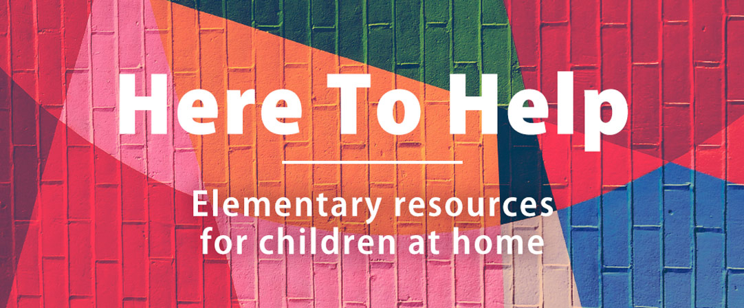 Elementary resources for children at home
