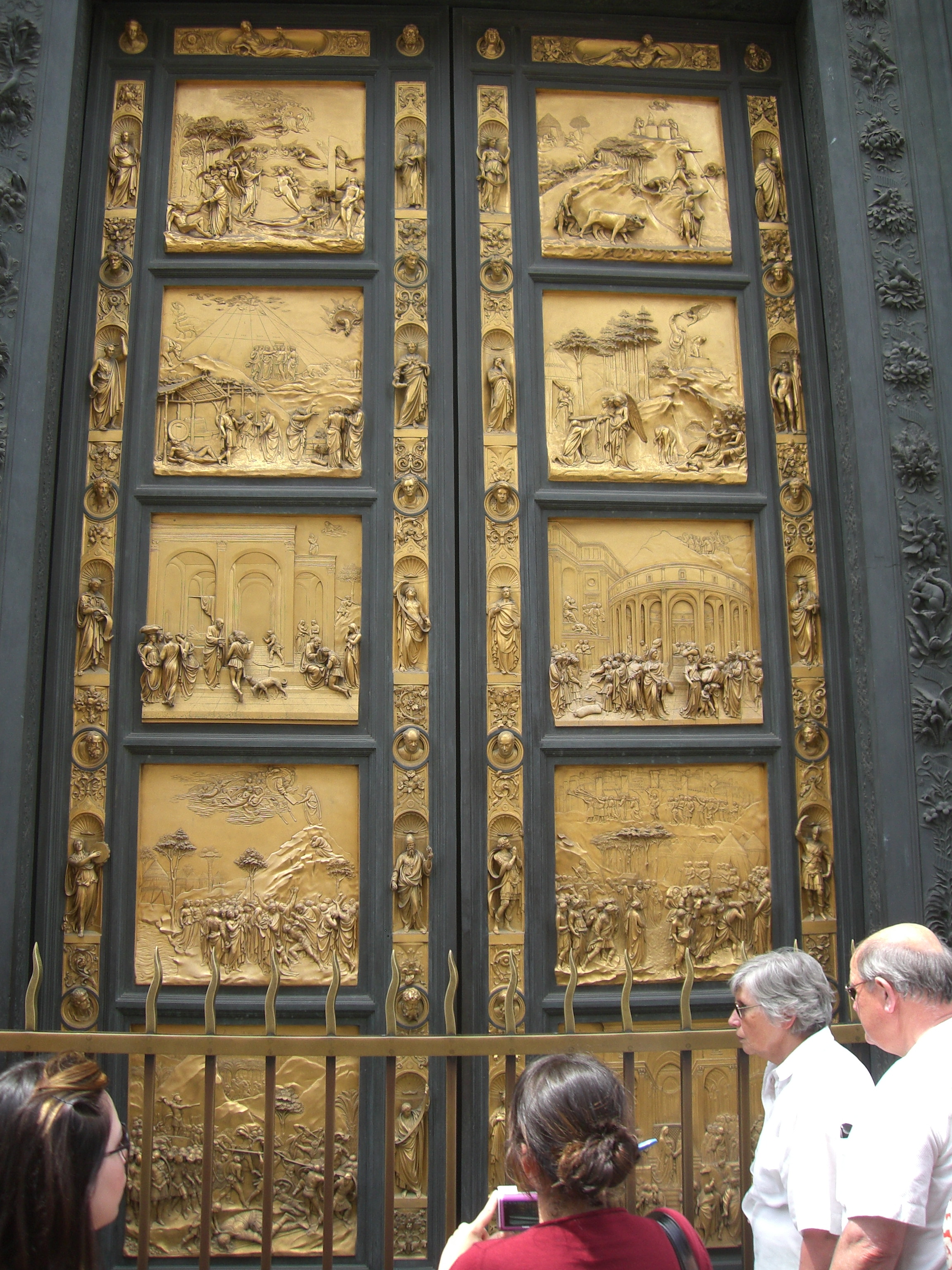 Door to Baptistry at Florence Cathedral in Piazza del Duomo (Florence Italy) & Door to Baptistry at Florence Cathedral in Piazza del Duomo ... Pezcame.Com
