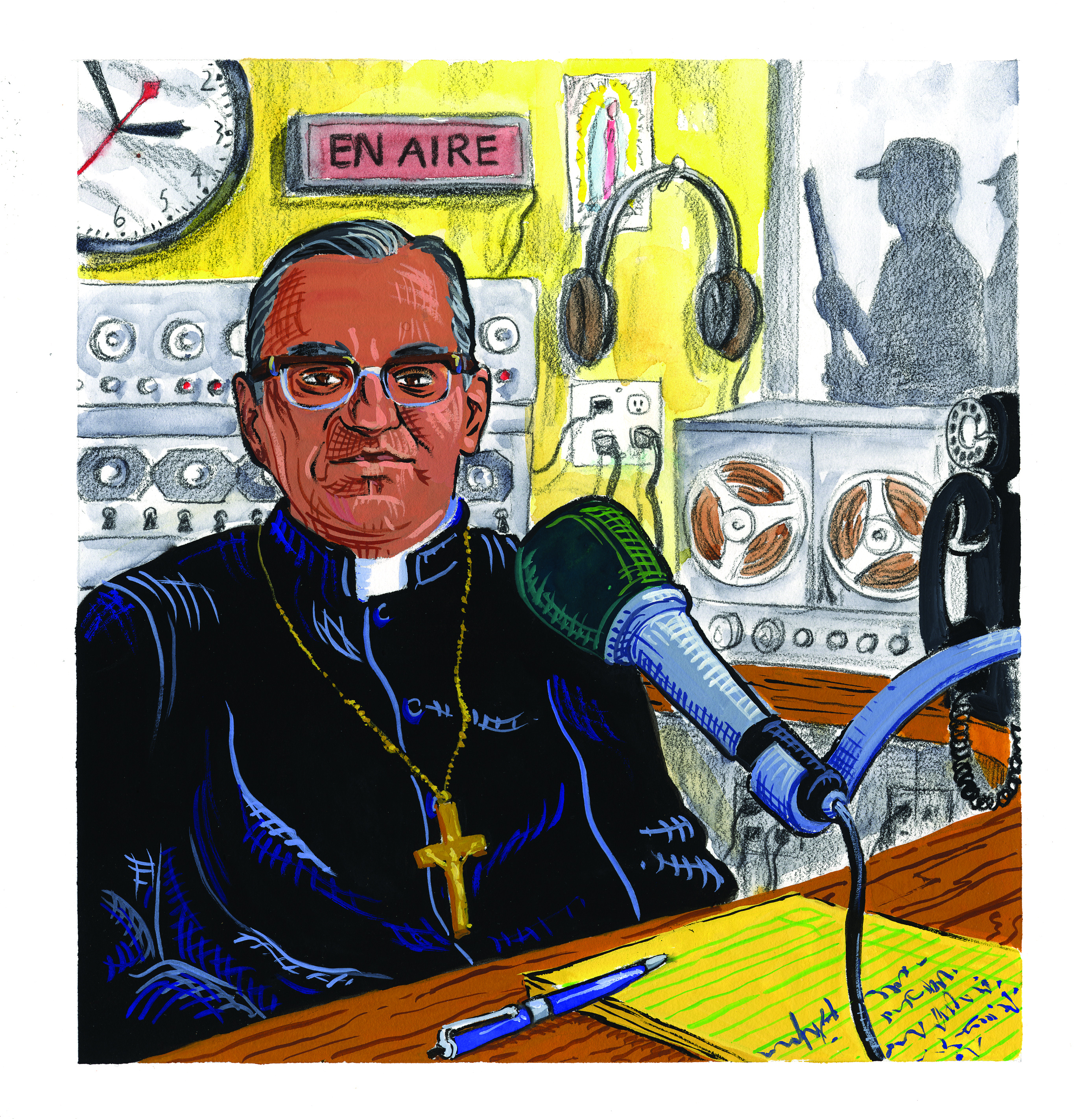 Newspaper Describes Oscar Romero Canonisation Miracle likewise Manny Immigration likewise 50 in addition Saint additionally Insides That Didnt De pose And Other Stunning Facts About Oscar Romero 52016. on oscar romero prayer resources