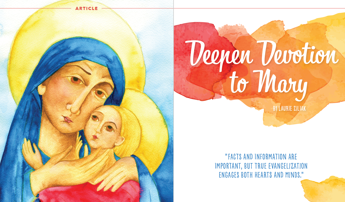 Deepen Devotion to Mary
