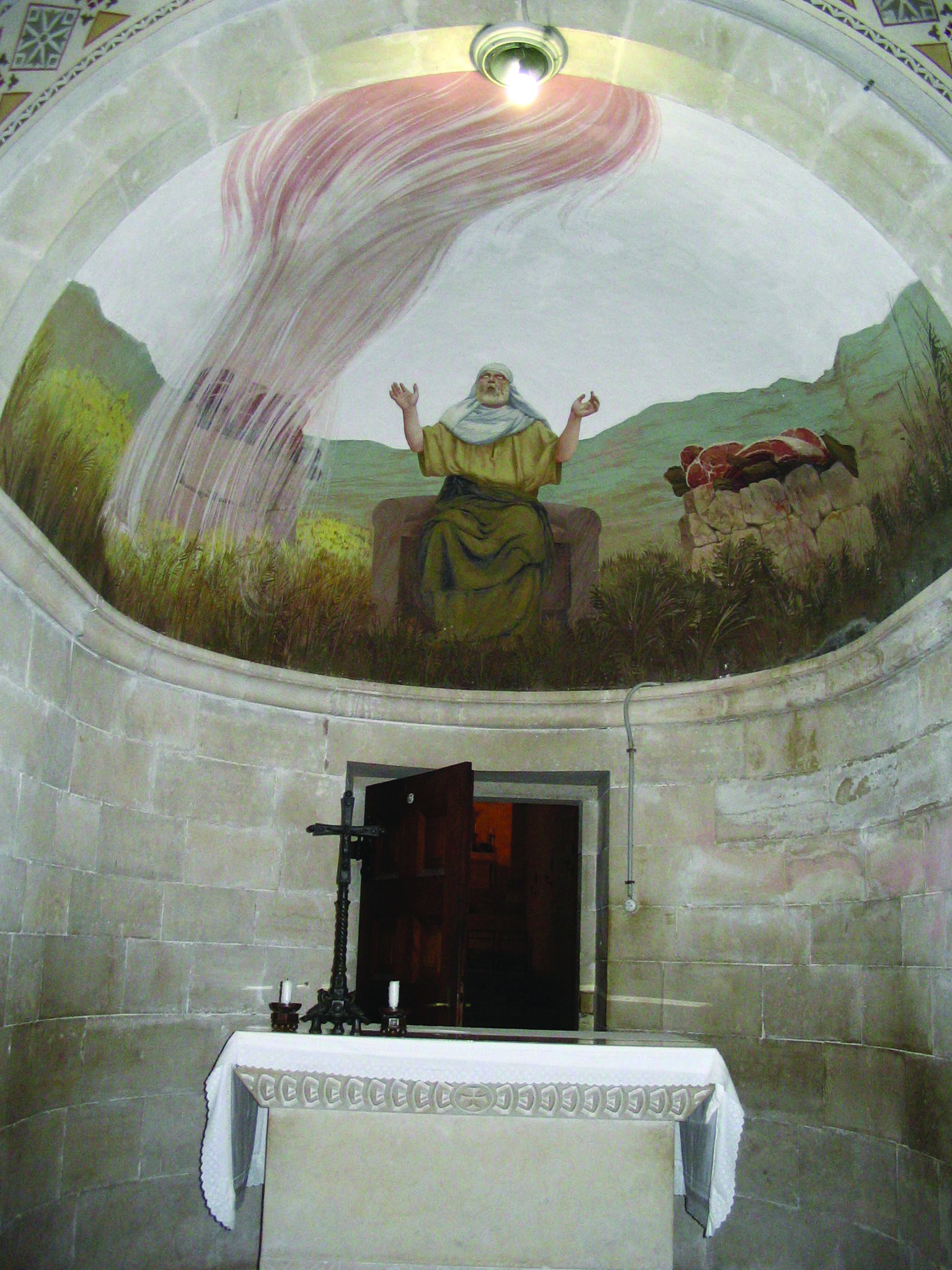 church of the transfiguration on mount tabor  israel
