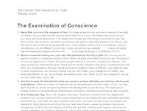 So, the sight examination of conscience for adults pdf