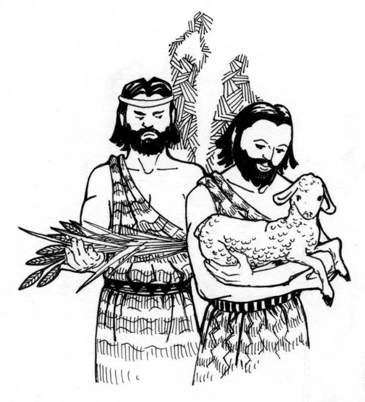 coloring sheet cain and abel cain and abel saint mary s press - Bible Coloring Pages Cain Abel