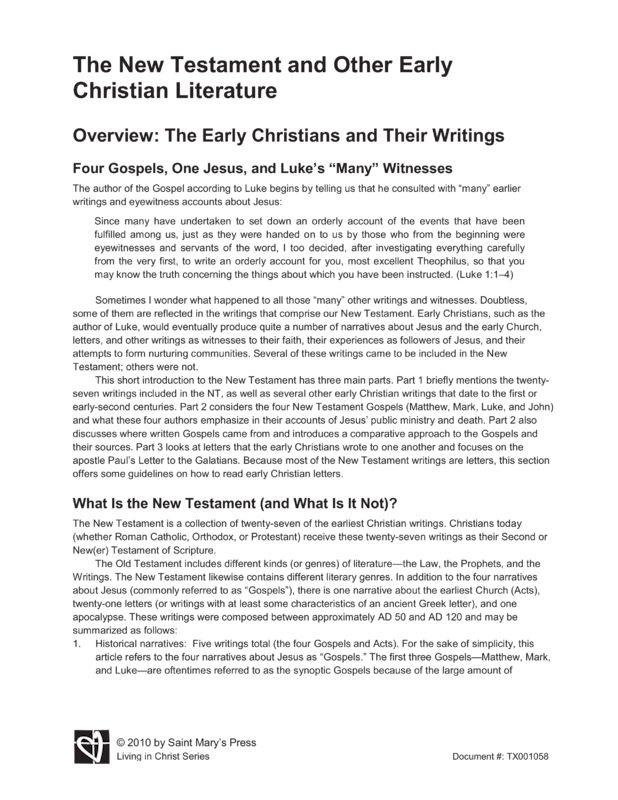 youth ministry literature review