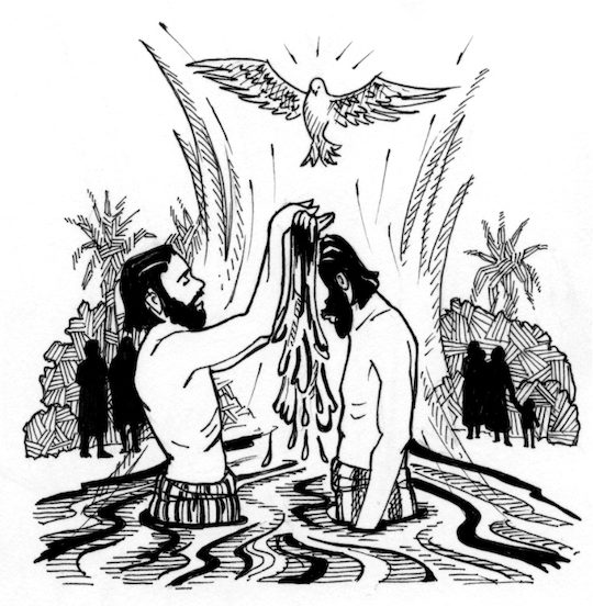 The Baptism Of The Lord Saint Marys Press
