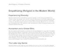 World Religions Saint Marys Press