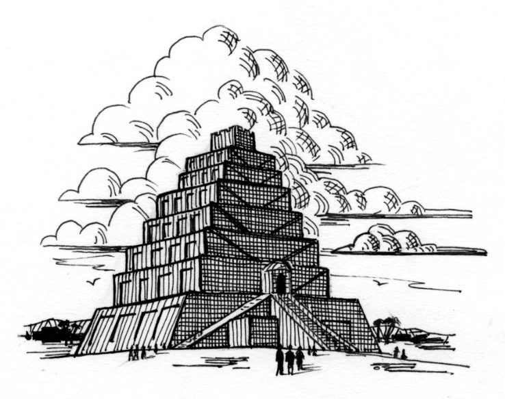 The Tower of Babel Saint Mary 39 s