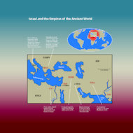 Map of Israel and the Empires of the Ancient World