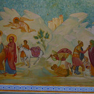 Icon of the Flight into Egypt: Matthew 2:13-23
