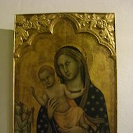Vatican Museum Pinacoteca (Art Gallery): Mary and Jesus Icon