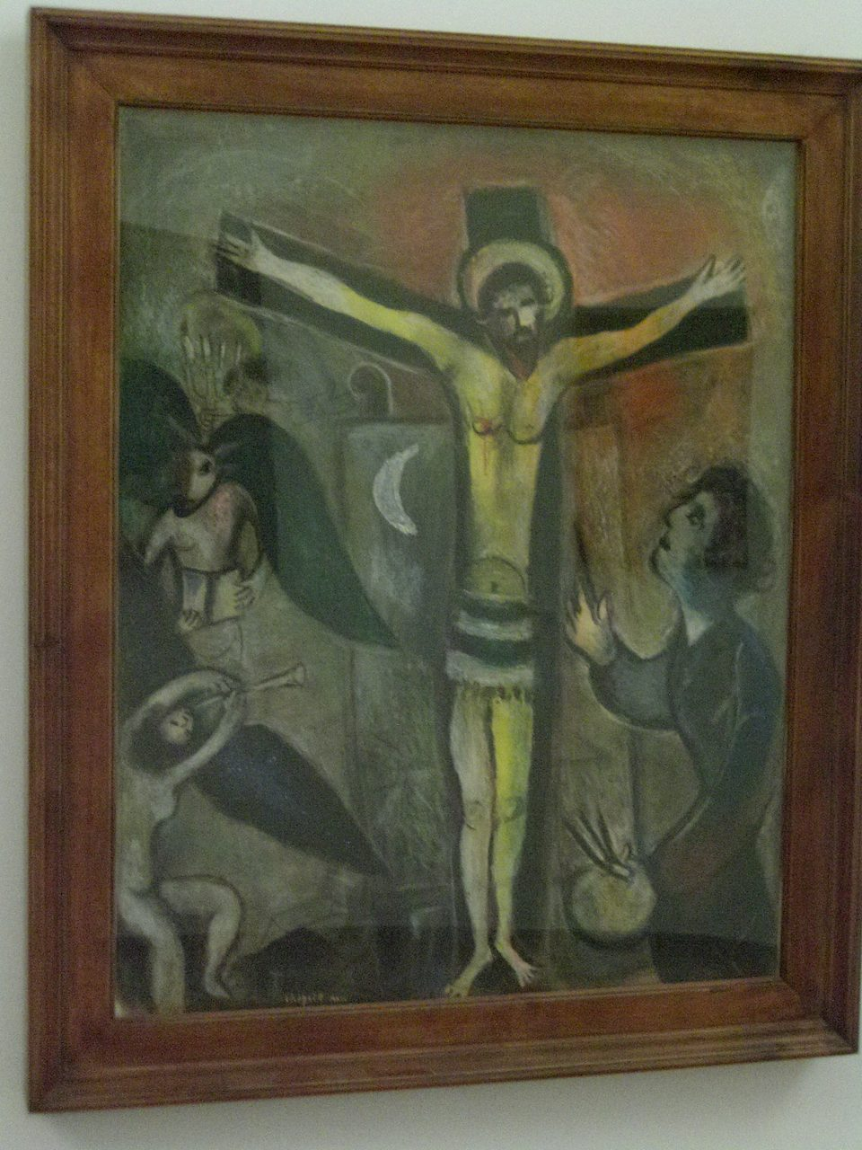 Vatican museum collection of modern religious art for Chagall peintre