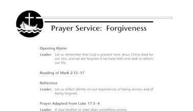sample of opening prayer