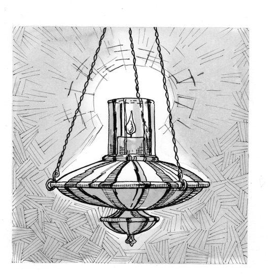 Signs And Symbols: Sanctuary Lamp