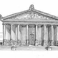 Acts 19:23-40 Illustration - Temple of Artemis
