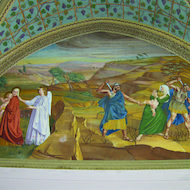 Flight into Egypt - Church of the Visitation at Ein Karem in Israel