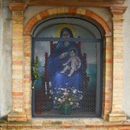 Marian Image on the way to Saint Damiano