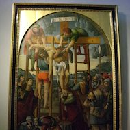 Vatican Museum Pinacoteca (Art Gallery): Jesus' Body is Removed from the Cross
