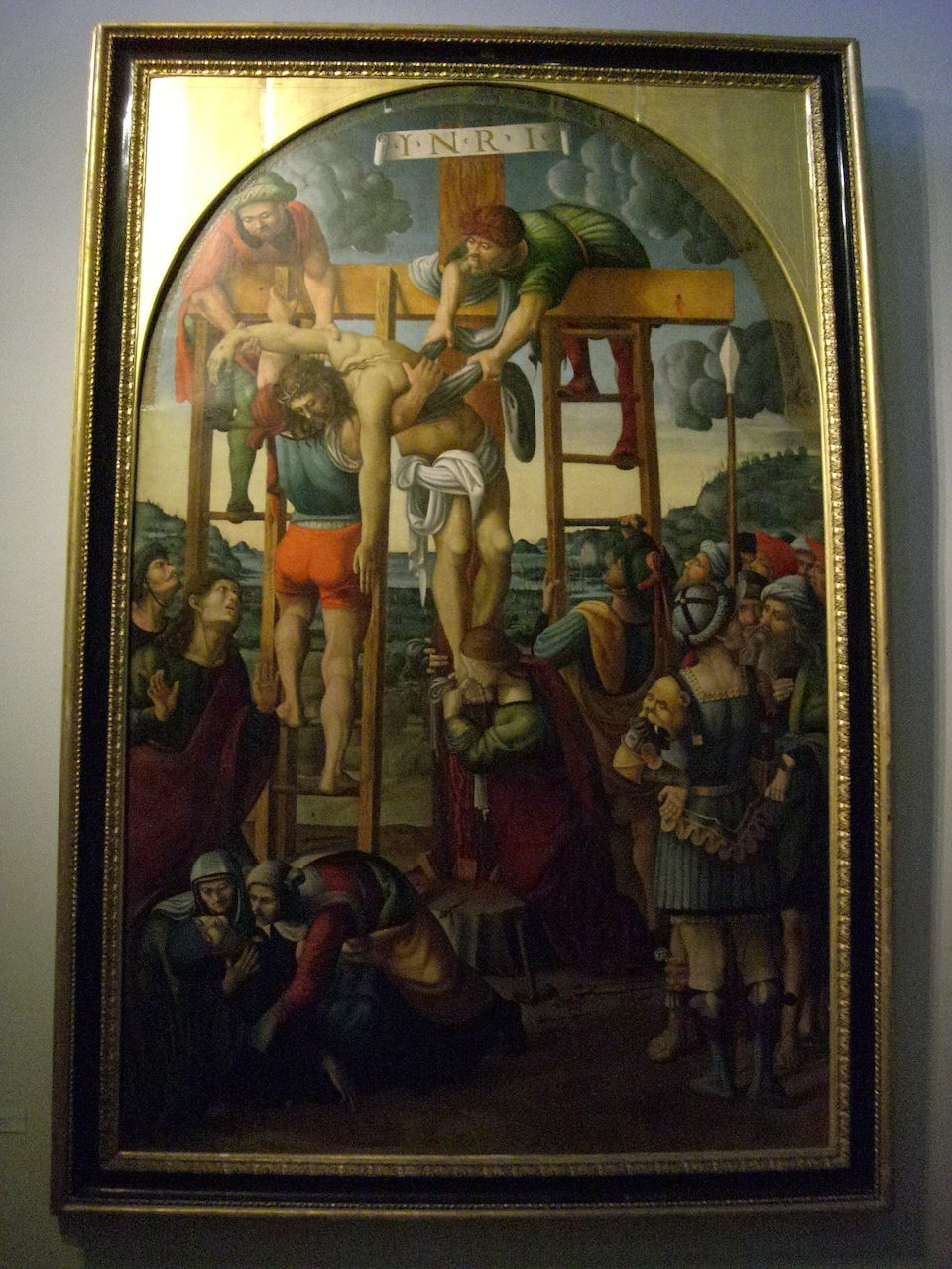 vatican museum pinacoteca art gallery jesus body is