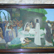 Painting of the Raising of Lazarus