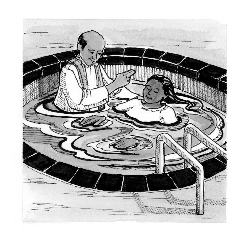 Signs And Symbols Baptismal Pool Saint Marys Press