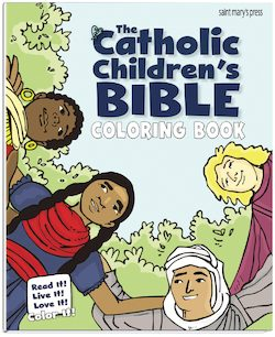 The Catholic Children's Bible Coloring Book