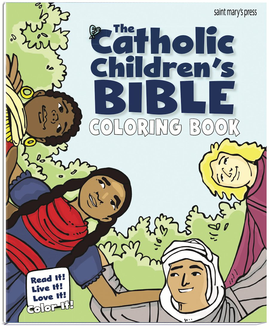 The Catholic Childrens Bible Coloring Book