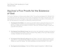 five proofs for the existence of god pdf