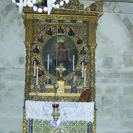 Tomb of the Virgin Mary (Church of the Assumption) in Jerusalem, Israel