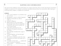 image regarding Bible Crossword Puzzles Printable With Answers titled Crosswords and Term Functions Saint Marys Force