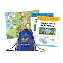 Go Seek Find Bilingual Child Pack (without Bible)