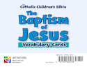 The Baptism of Jesus Vocabulary Cards