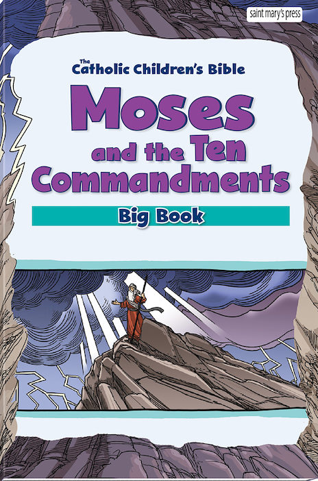 Moses and the Ten Commandments Bible Big Book