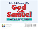 God Calls Samuel Vocabulary Cards