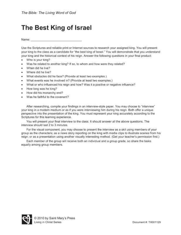 The liturgy Documents Summary and Reflection Essay