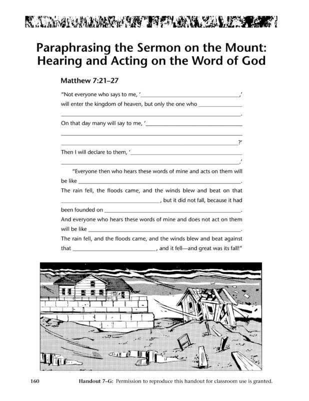 essay on sermon on the mount Sermon on the mount study guide - the sermon on the mount contains the moral teachings of jesus, which were written down by st matthew jesus told these teachings to his disciples.