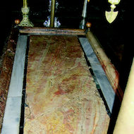 Church of the Holy Sepulchar - Stone of Unction