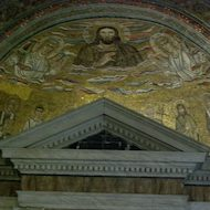 Chapel of Saint Venantius at the San Giovanni in Fonte (Lateran Baptistry) in Rome, Italy