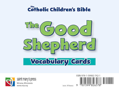 The Good Shepherd Vocabulary Cards