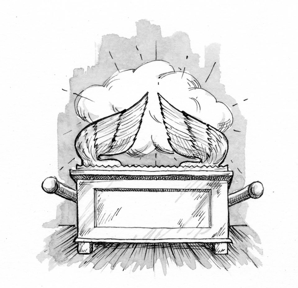 Exodus 37 1 9 Illustration The Ark Of The Covenant