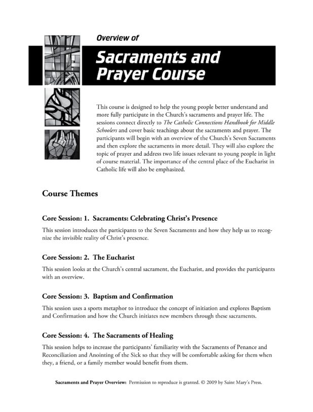 the sacraments and baptism essay The evangelical doctrine of baptism essays by catholics and evangelical churchmen do not treat the sacrament of baptism lightly.