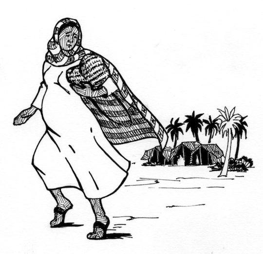 Free Coloring Pages Of Abraham Sarah Hagar Hagar And Ishmael Coloring Page