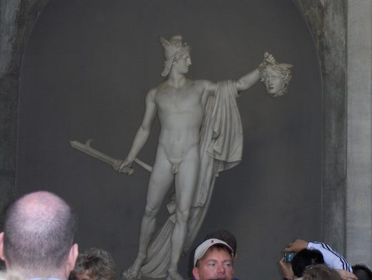 Perseus With The Head Of Medusa By Antonio Canova At The
