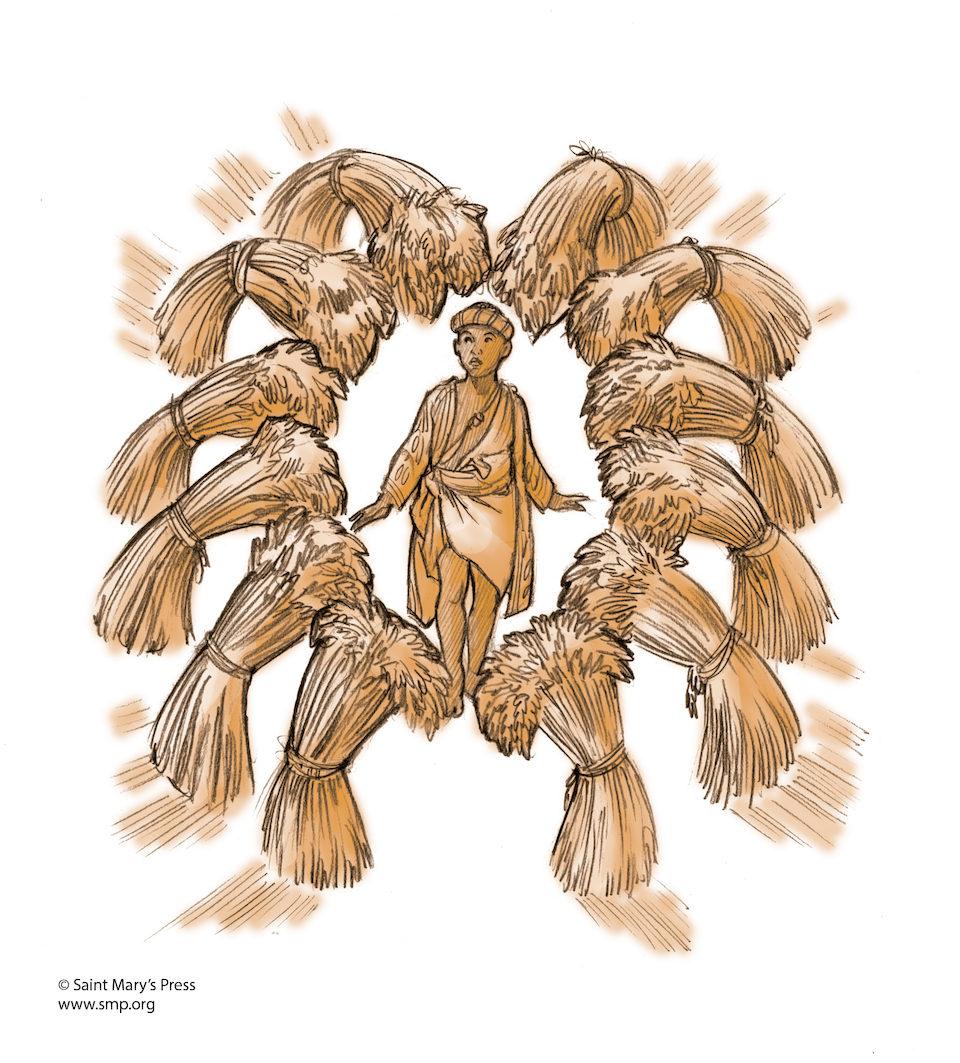 joseph dreams of sheaves of grain saint marys press
