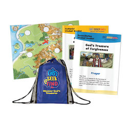 Go Seek Find Child Pack (without Bible)