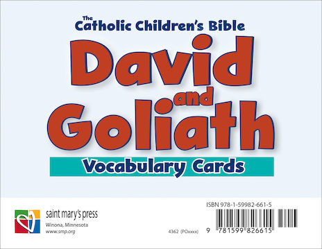 David and Goliath Vocabulary Cards