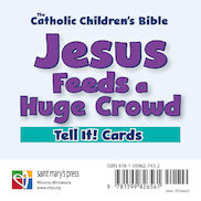 Jesus Feeds a Huge Crowd Tell It! Cards